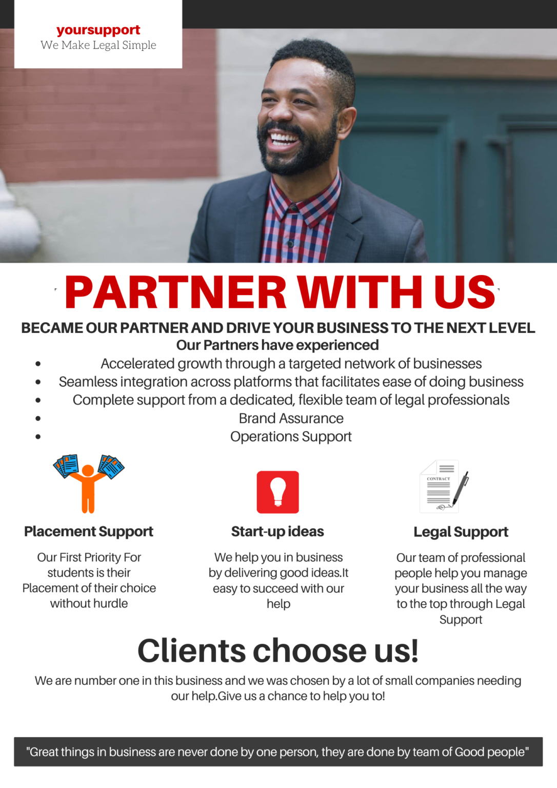 Consulting Services Flyer 2